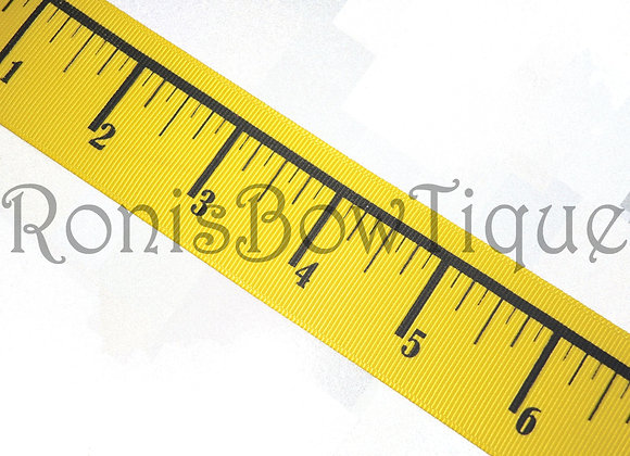 "7/8"" RULER MEASURING TAPE RIBBON"