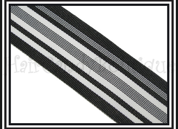 Midnight Waves Stripe Ribbon