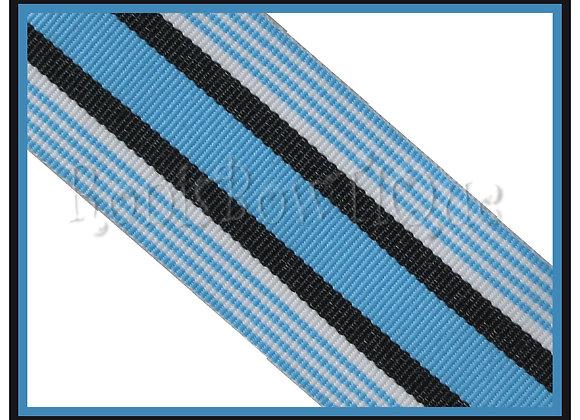 Baby Boy Blanket Stripe Ribbon