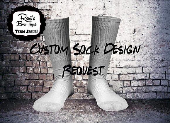 CUSTOM DESIGNED PERSONALIZED SOCKS