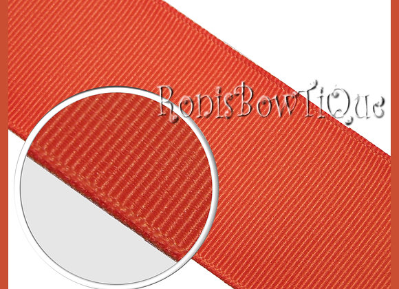 Torrid Orange Solid Grosgrain Ribbon