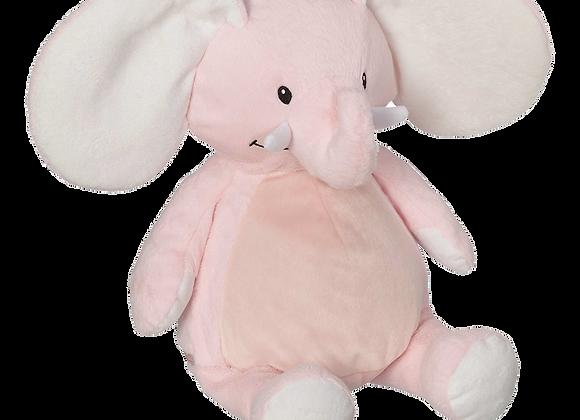 EMBROIDER BUDDY Ellie Elephant Buddy Pink Personalized Gift Stuffed Animal