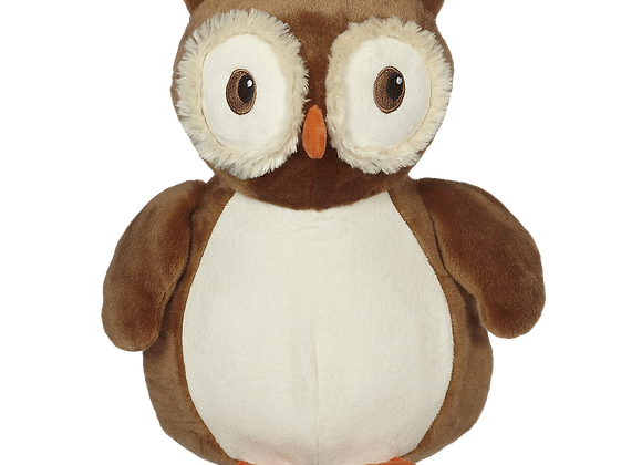 EMBROIDER BUDDY Okie Owl Buddy Personalized Gift Stuffed Animal