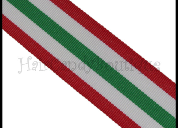 Christmas 411 Stripe Ribbon