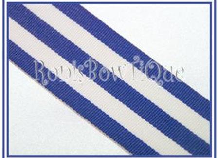 Royal Blue Stripe Ribbon