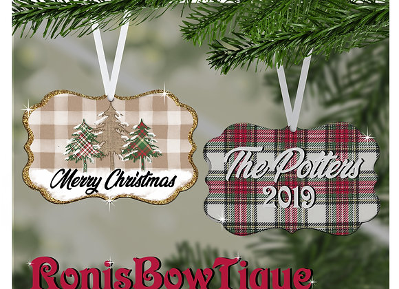 Presidio Personalized Christmas Ornament Gift