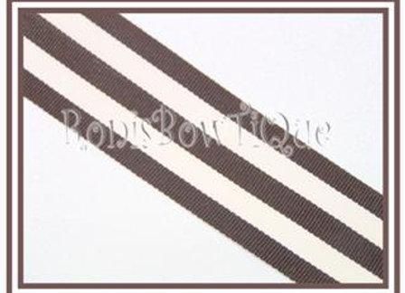 Brown Stripe Ribbon