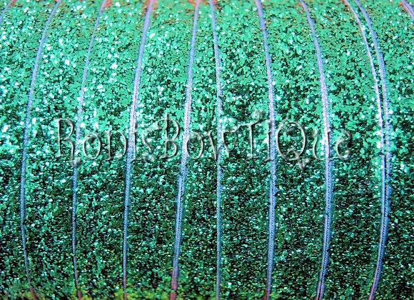 Emerald Green Glitter Ribbon