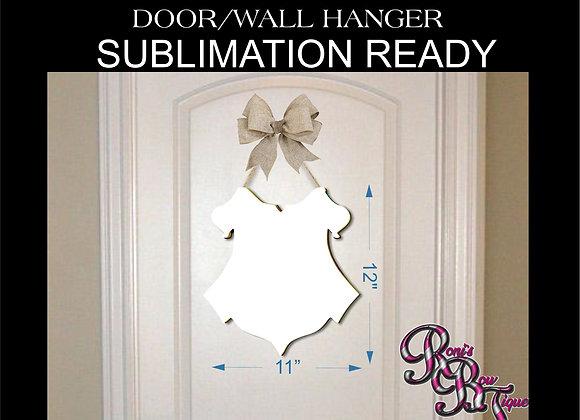 SUBLIMATION BLANK Hogwarts Crest Door Hanger Wall Art