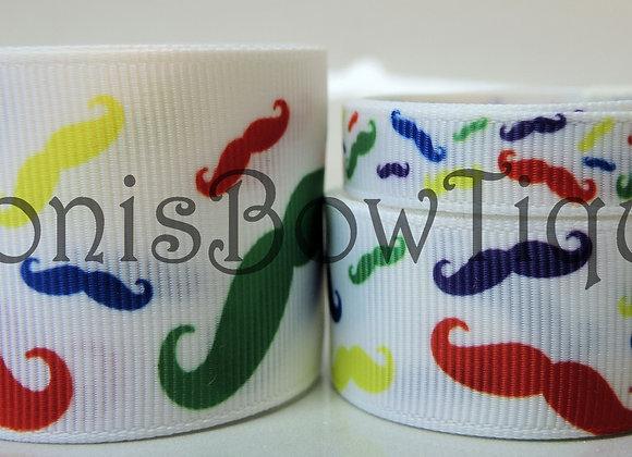 Rainbow Mustache Lot