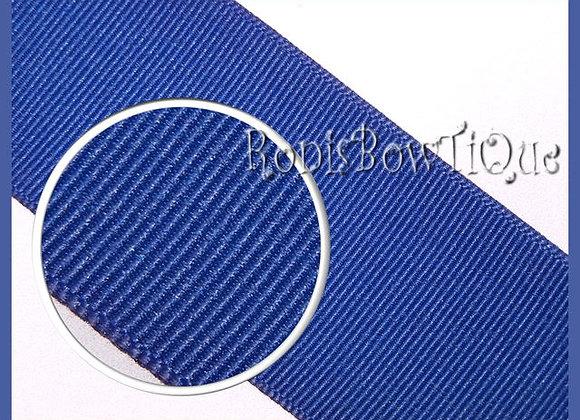 Royal Blue Solid Grosgrain Ribbon