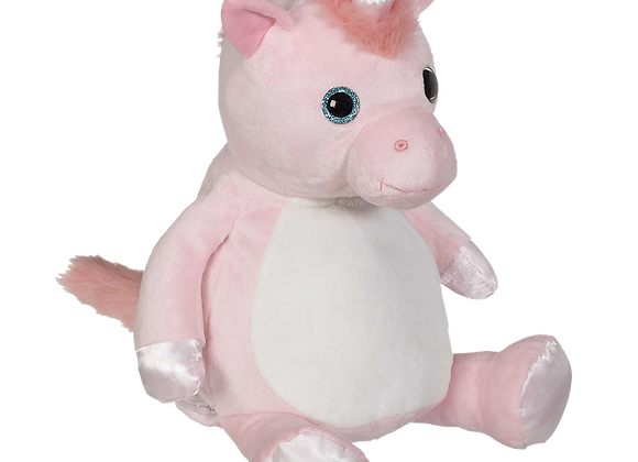 EMBROIDER BUDDY Whimsy Unicorn Buddy Personalized Gift Stuffed Animal