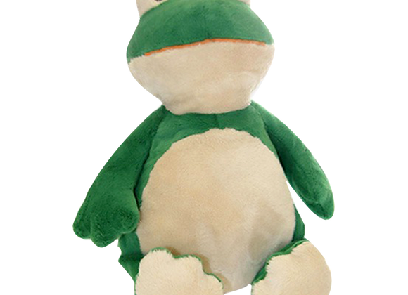 EMBROIDER BUDDY HipHop Froggy Buddy Personalized Gift Stuffed Animal Frog