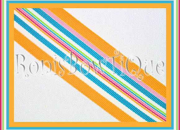 Tahiti Cruise Stripe Ribbon