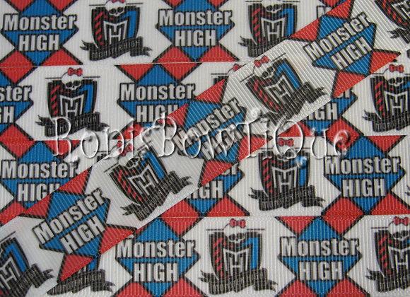 MONSTER HIGH BLUE PINK CREST
