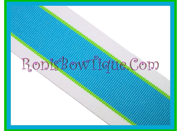 Island Splash Stripe Ribbon