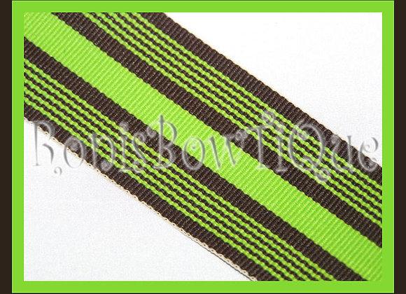 Limetini Stripe Ribbon