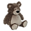 Thumbnail: EMBROIDER BUDDY Bobby Buddy Bear, brown Personalized Gift Teddy Bear
