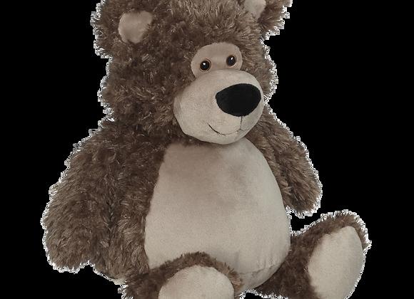 EMBROIDER BUDDY Bobby Buddy Bear, brown Personalized Gift Teddy Bear