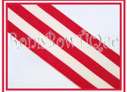 Red Stripe Ribbon
