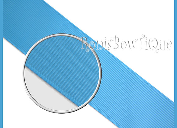 Turquoise Blue Solid Grosgrain Ribbon