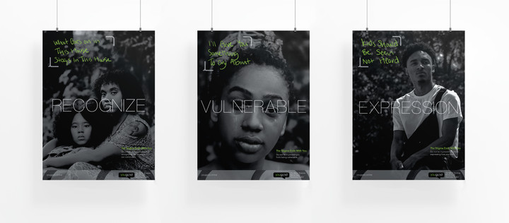 Posters (Recognize, Vulnerable, Expression)
