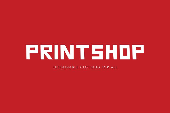 PRINTSHOP logo and tagline