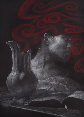Self as Depicted by Broken Still Life
