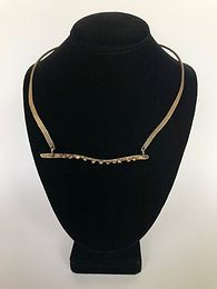Forged Statement Necklace