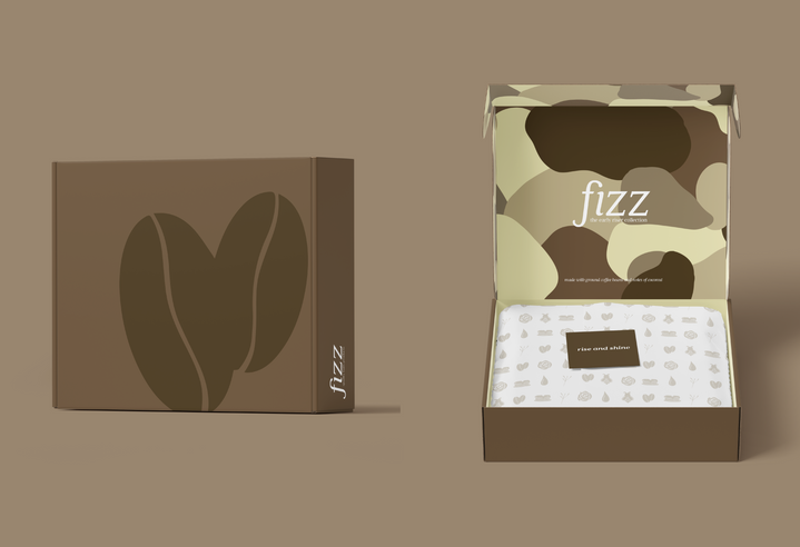"""The """"early riser collection"""", made with ground coffee beans and notes of coconut."""