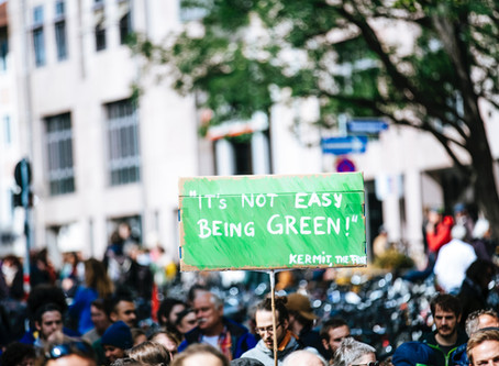 It Ain't Easy Being Green: The Covert Co-opting of Postmodernity