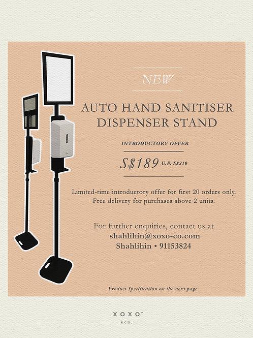 Auto Hand Sanitizer Stand Dispenser