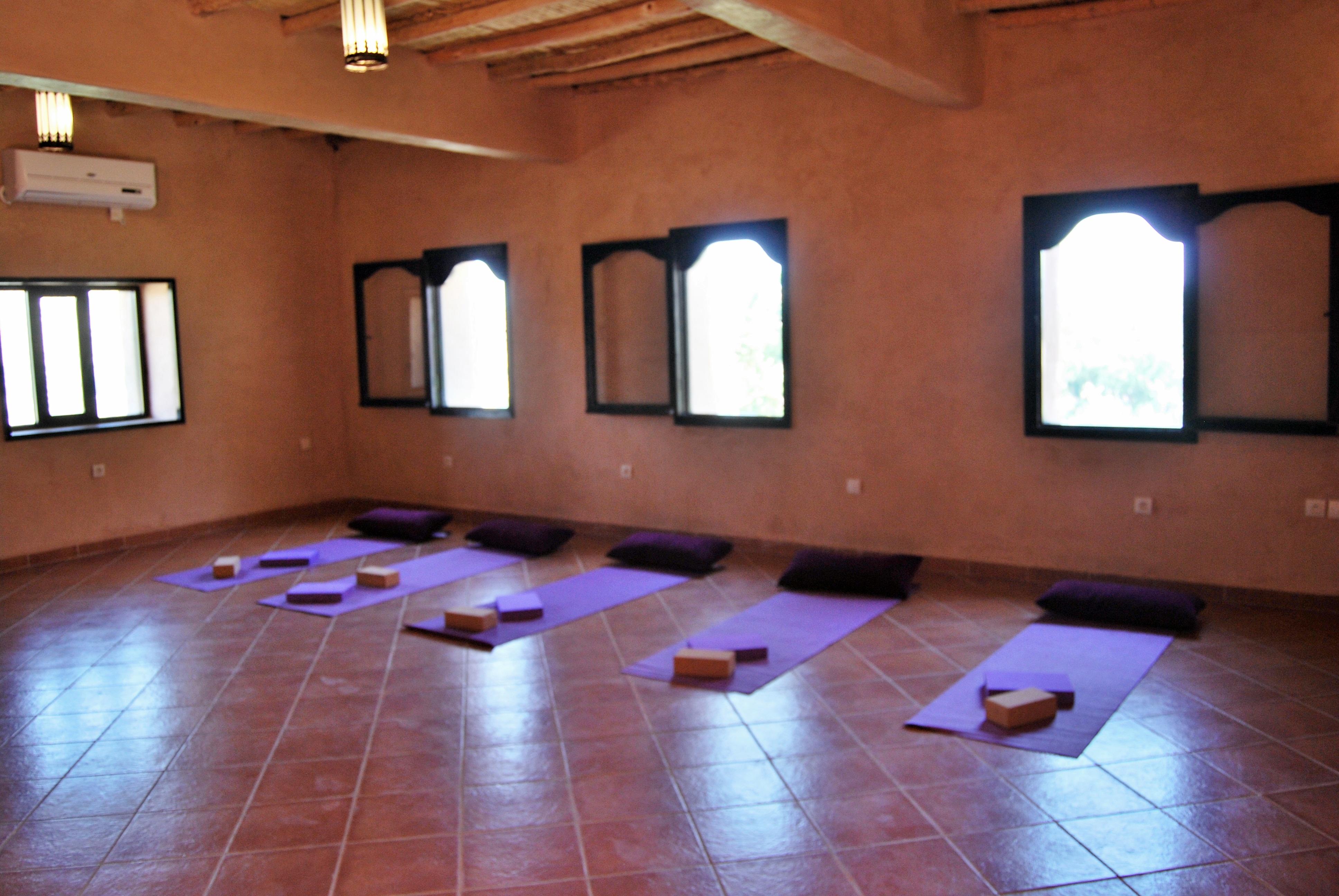 Small yoga studio 2