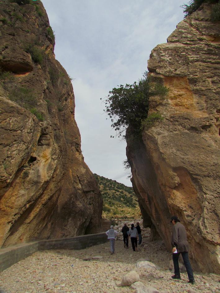 Gorges_d'Azrarag_près_d'Atlas_Kasbah