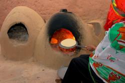 Cuisson traditionnelle du pain