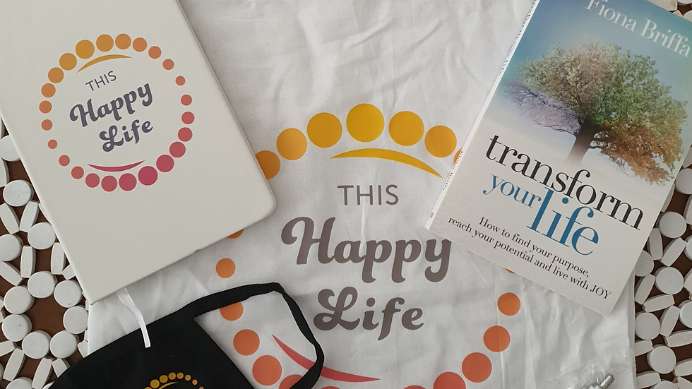 Transform Your Life Book + Gift Pack +Postage
