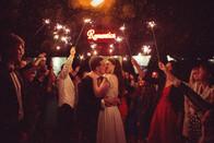 Sesja ślubna w nocy