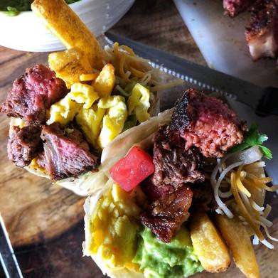 Tailgate Breakfast Burritos: California Style!