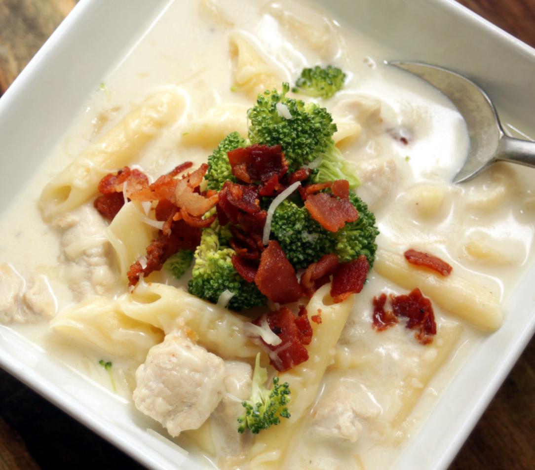 Chicken Alfredo Soup