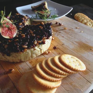 Savory Rosemary, Pancetta & Fig Cheesecake - Bertolli Taste of Tradition WINNER, 2015