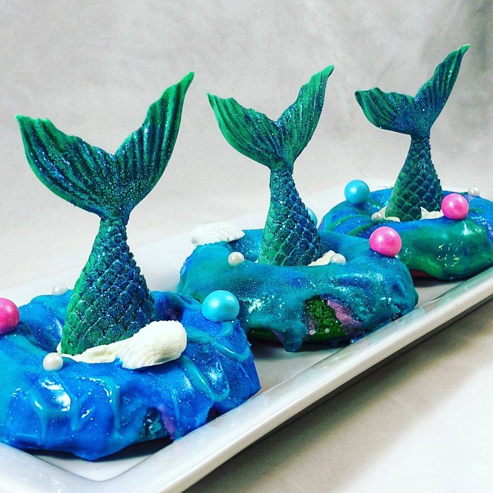 MERMAID DONUTS