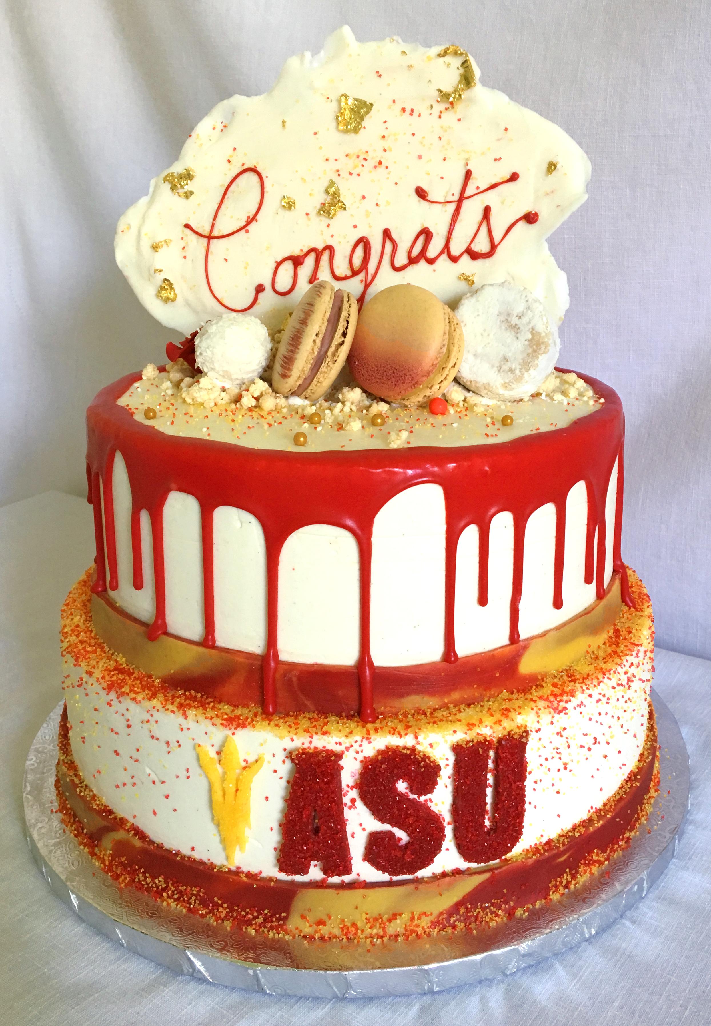 ASU GRAD CAKE