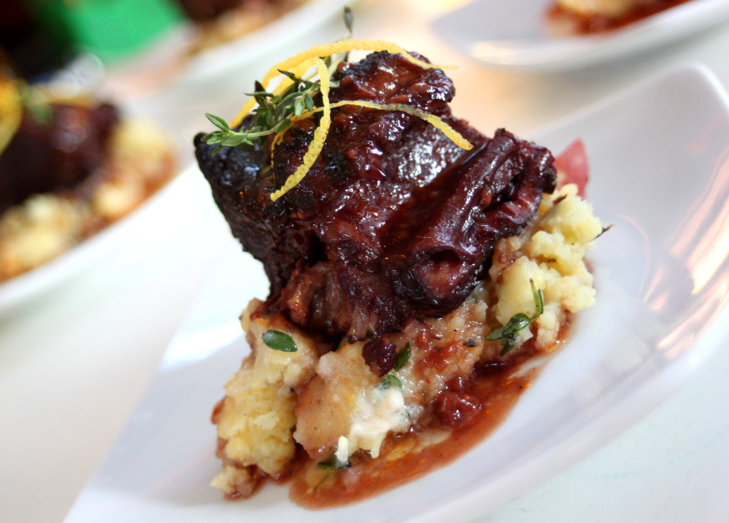 raspberry and red wine short ribs
