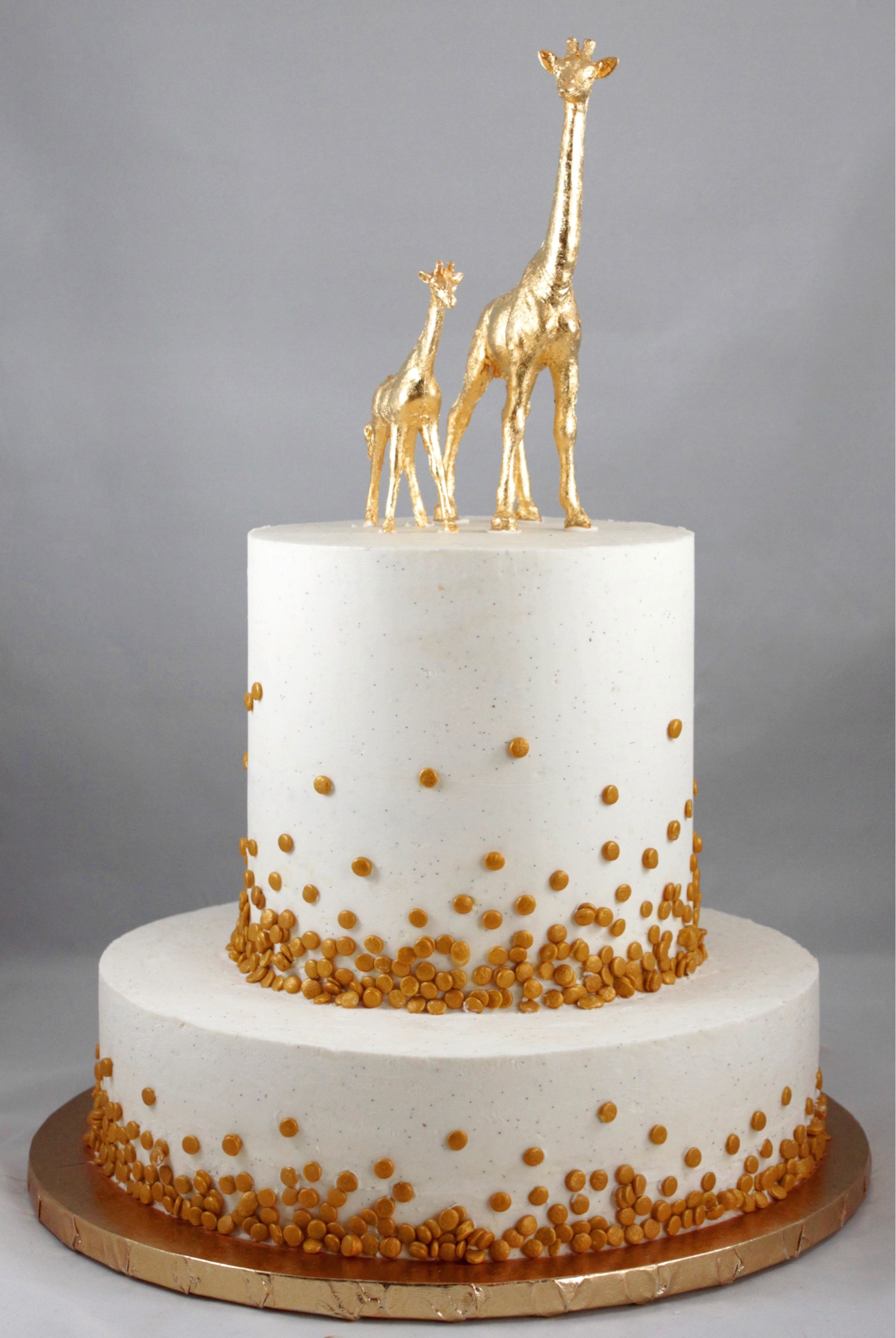 BUTTERCREAM GIRAFFE CAKE