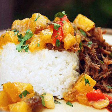 Almost Summer: Jerk Pork with Mango Chutney
