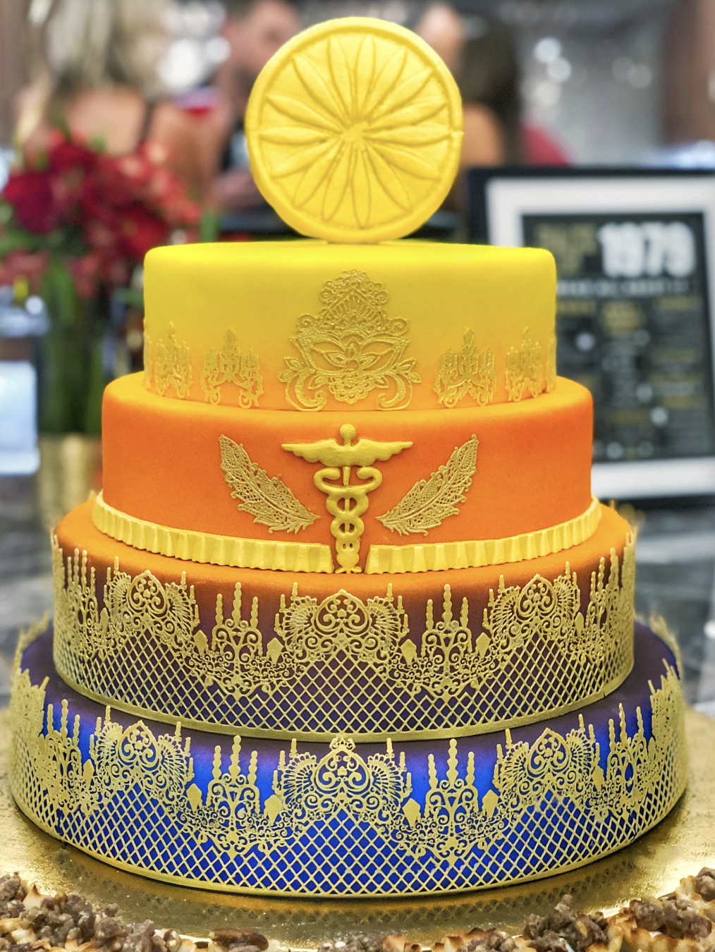 BOLLYWOOD THEME BIRTHDAY CAKE