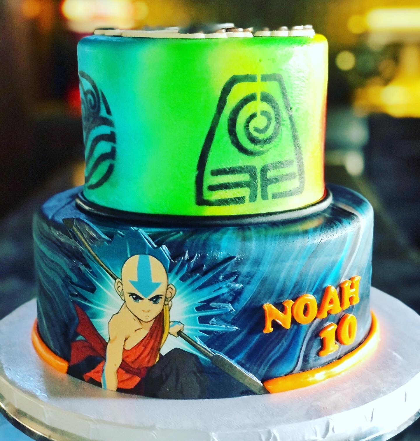 AVATAR: THE LAST AIRBENDER CAKE