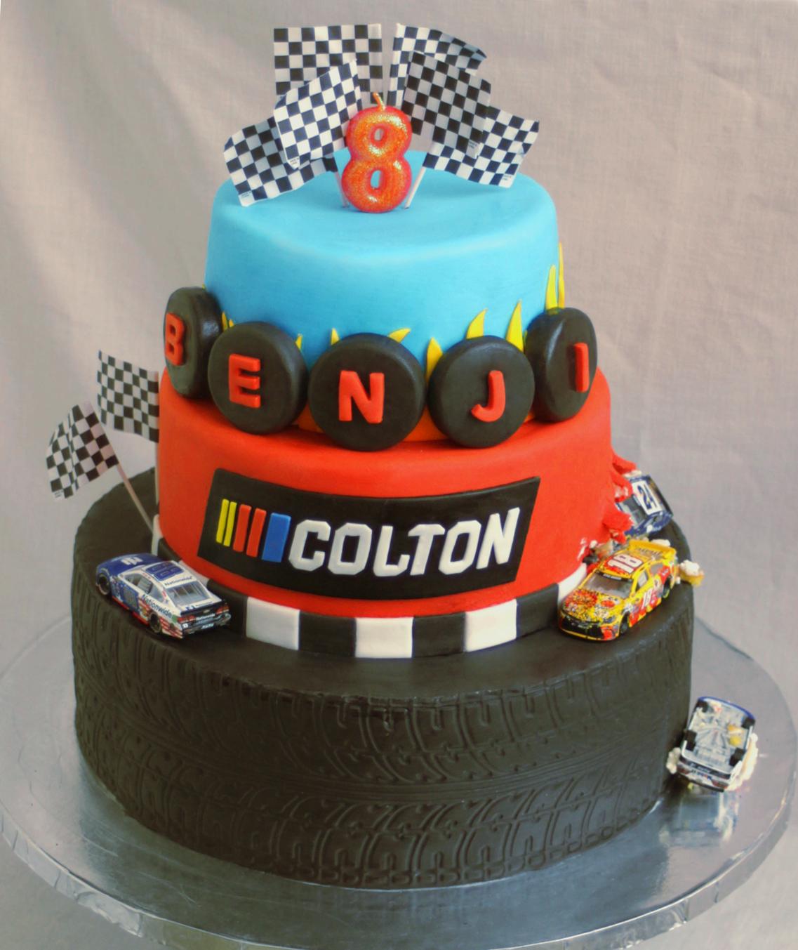 NASCAR CAKE