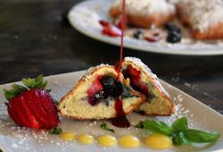 Berry Stuffed Beignets