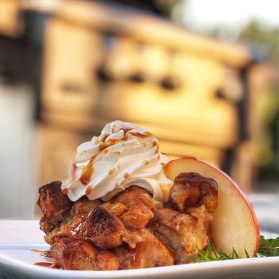 Broilmaster Grills: Cinnamon Sugar Donut Bread Pudding